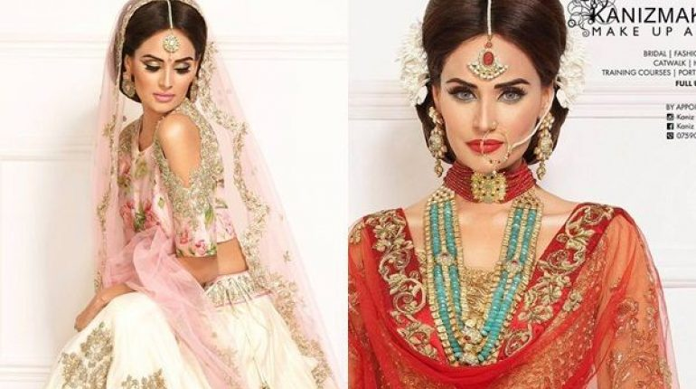 See Mehreen Syed's Photoshoot for Kaniz Ali Makeup