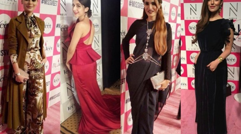 a1322b5fec Celebrities at Miss Veet Pakistan 2016 Grand Finale