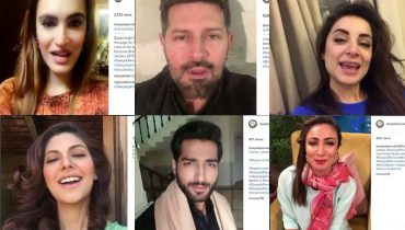 Pakistani Celebrities promoting Deepak Perwani's Bridal Studio