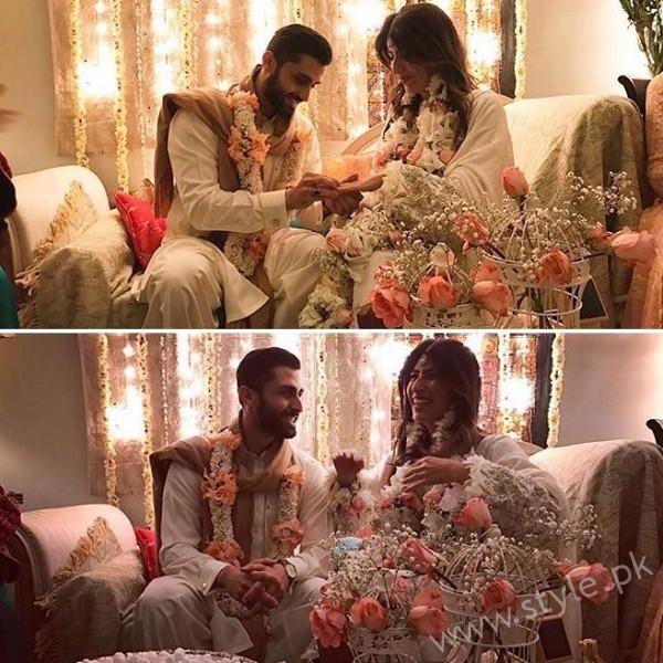 Palwasha Yousuf Engagement Picture