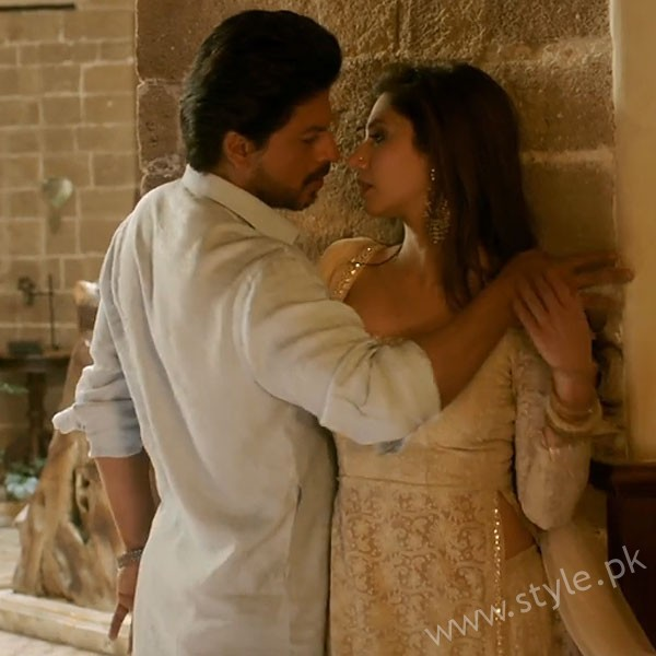 SRK Mahira Khan In Raees
