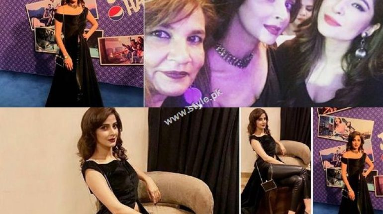 See Saba Qamar at Atif Aslam's Jee Lay Har Pal Launch Event