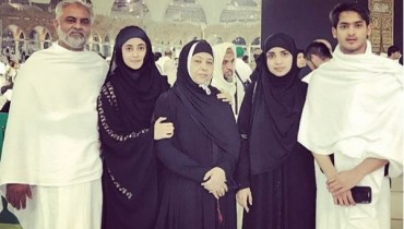 See Sajal Ali And Saboor Ali performed Umrah
