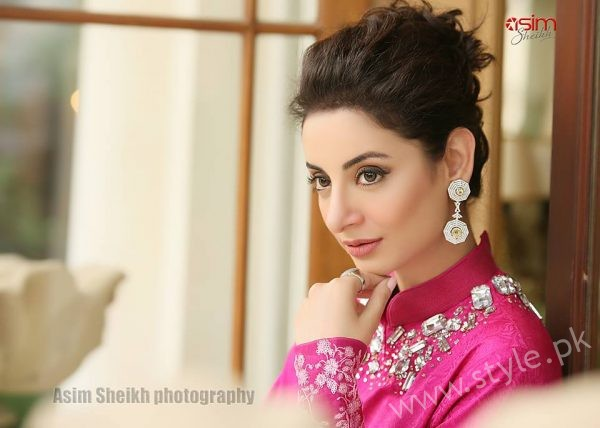 Sarwat Gilani Magazine Shoot