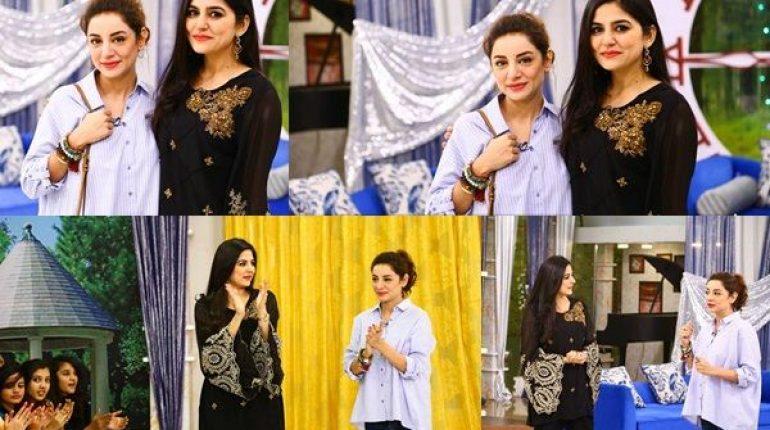 See Sarwat Gilani at 'The Morning Show'