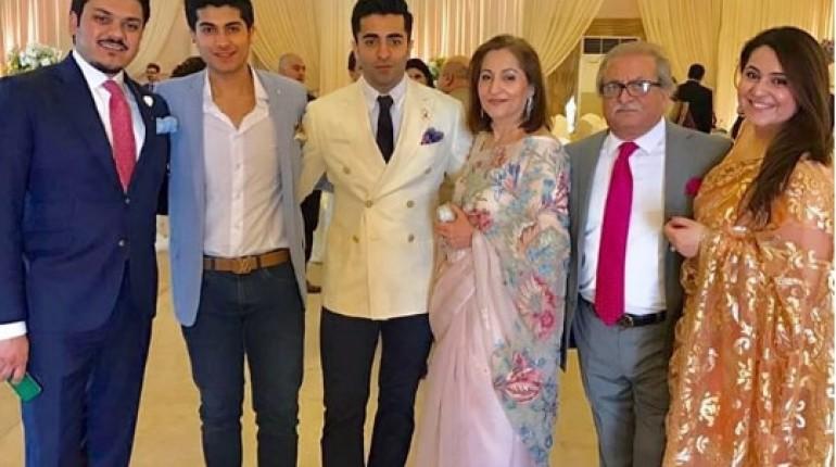 See Shehryar's Munawar's Family