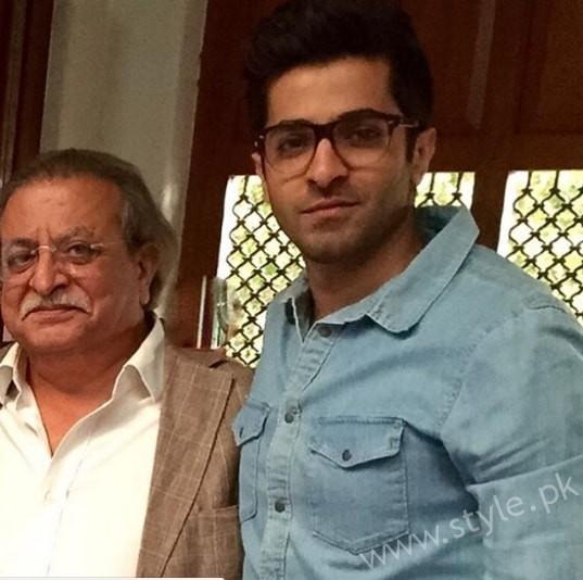 Shehryar Munawar's Family (2)