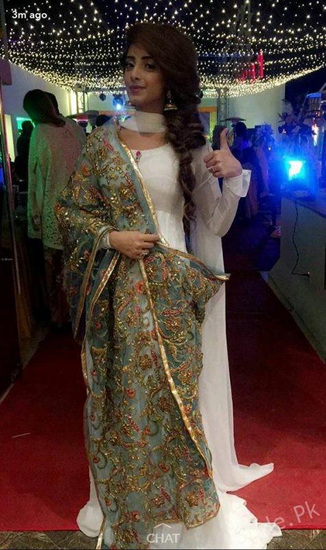 Sanam Chaudhry at Sidra Batool's Nikah