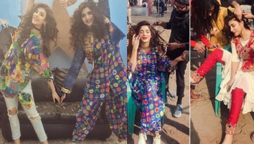 See Urwa Hocane and Mawra Hocane's Photoshoot for Rang Ja