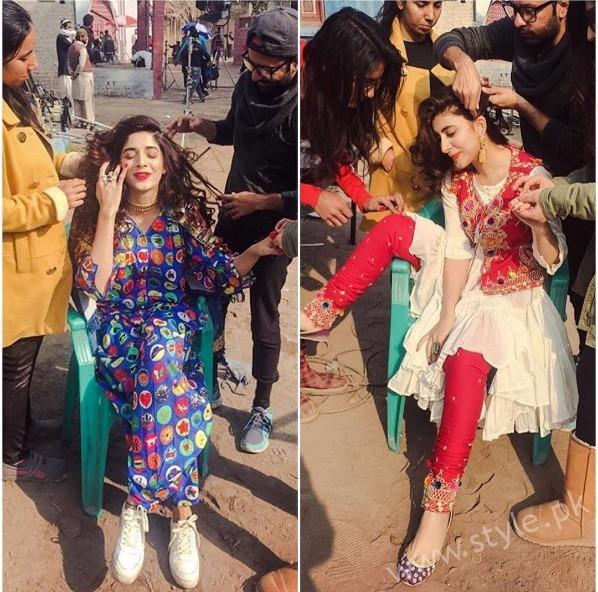Urwa Hocane and Mawra Hocane's Photoshoot for Rang Ja (16)