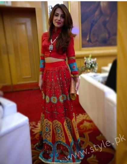 Ushna Shah at her Friend's Wedding (11)