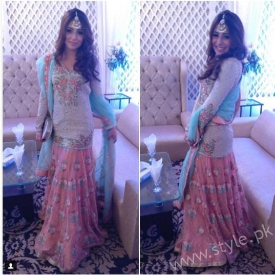 Ushna Shah at her Friend's Wedding (3)