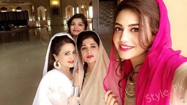 Asma Abbas Son Wedding Picture...