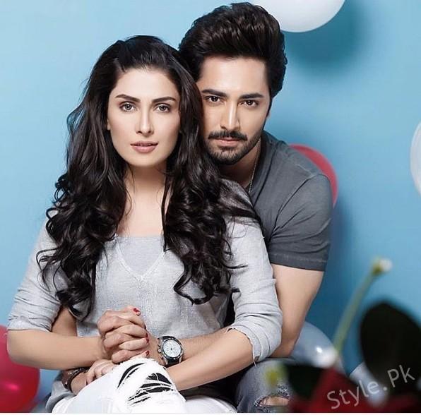 Ayeza Khan And Danish Taimoors Photoshoot For Valentines