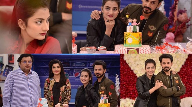See Beautiful Couple Uroosa Qureshi and Bilal Qureshi in Good Morning Pakistan