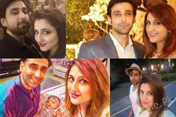 See Sami Khan with his Wife - Sami Khan Family Pictures