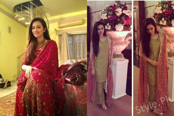 See Sana Javed S Recent Pictures At A Wedding