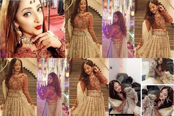 See Sanam Chaudhry looks Dead Gorgeous in Lehnga Choli