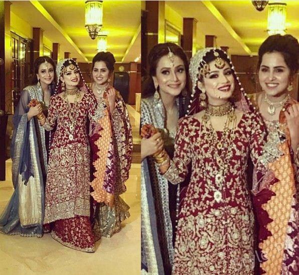 Pakistani Celebrity Brides Stunning Wedding Day Looks
