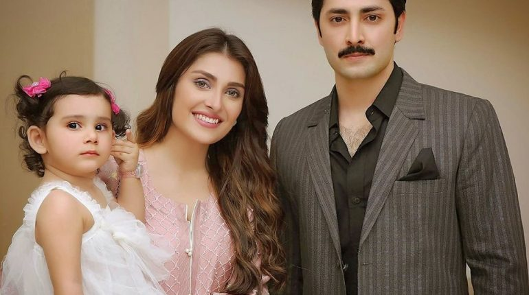 See Ayeza Khan and Danish Taimoor Recent Family Pictures