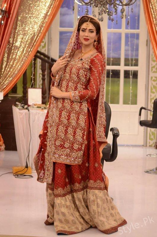 Orange Wedding Dresses 70 Beautiful Fiza Ali in Wedding