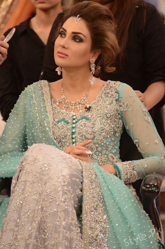 Stylish Dresses For Weddings 83 Good Fiza Ali in Walima