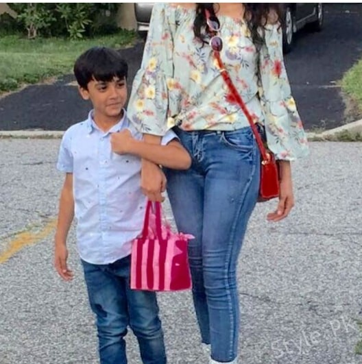 Hira And Mani Family Pictures Hira Mani Kids Pictures