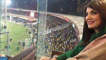 See Reham Khan Enjoying PSL Final Match - Reham Khan pictures