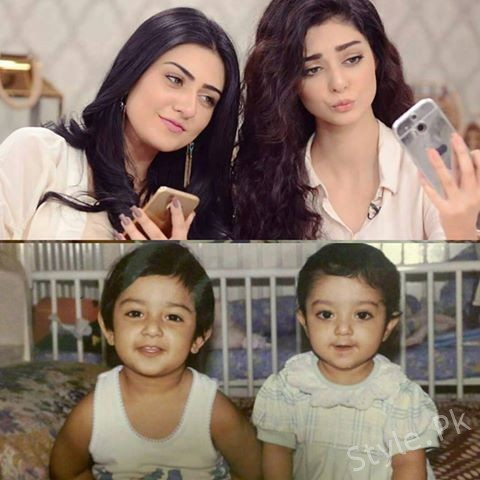 See Childhood Picture of Sarah Khan and Noor Khan