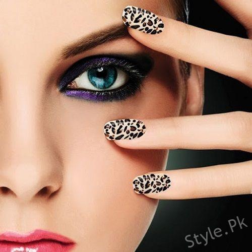 Nail Art Ideas For Girls Eid 2017 Style