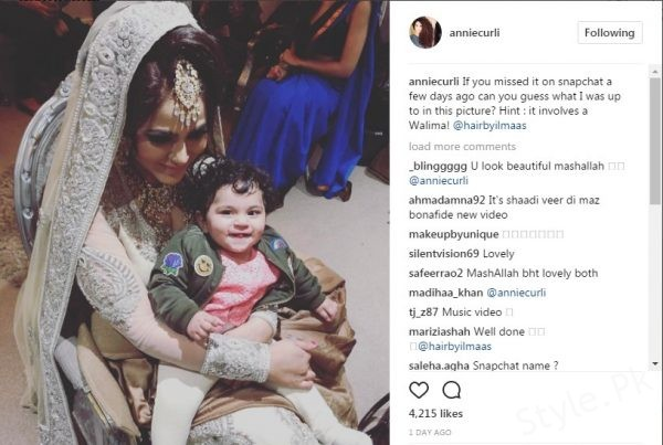 See Annie Khalid's Walima Ceremony Took Place Two Days Back