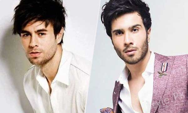 see Enrique Iglesias spotted in Karachi