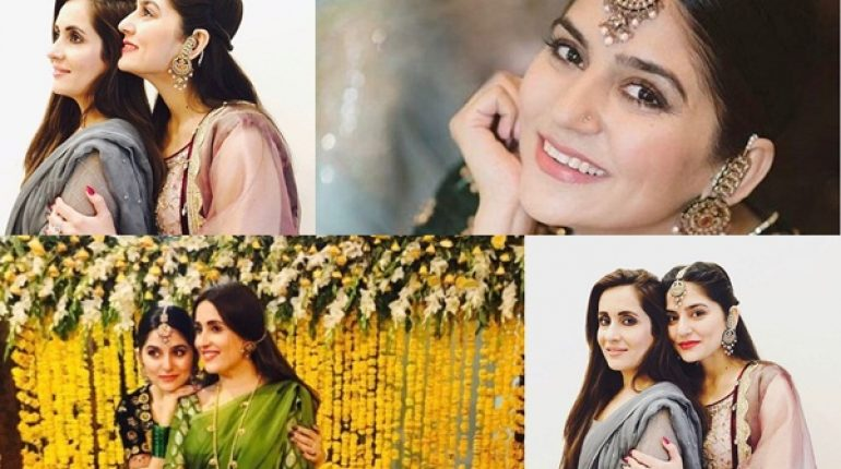 See Recent Pictures of Sanam Baloch at a Wedding