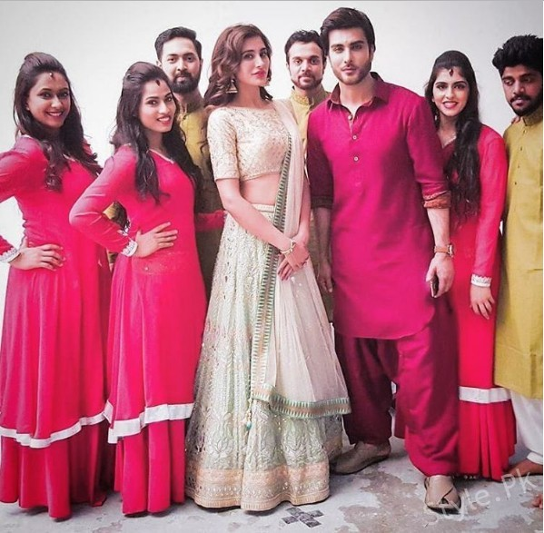 See Imran Abbas and Nargis Fakhri Spotted Together in Dubai