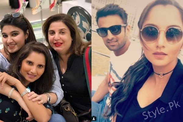 See Shoaib Malik and Sania Mirza Vacationing in Dubai