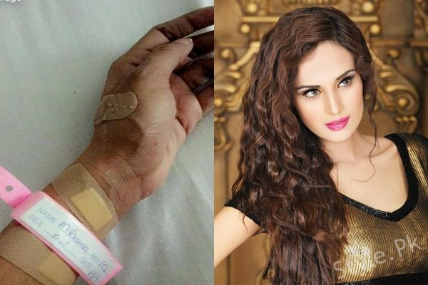 See Super Model Mehreen Syed is Hospitalized