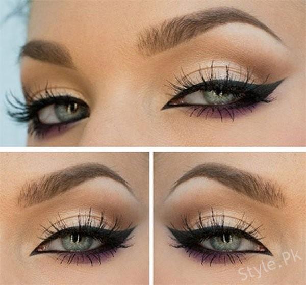 Perfect Winged Eyeliner Tutorial ♡ Cat Eye Liner. - YouTube