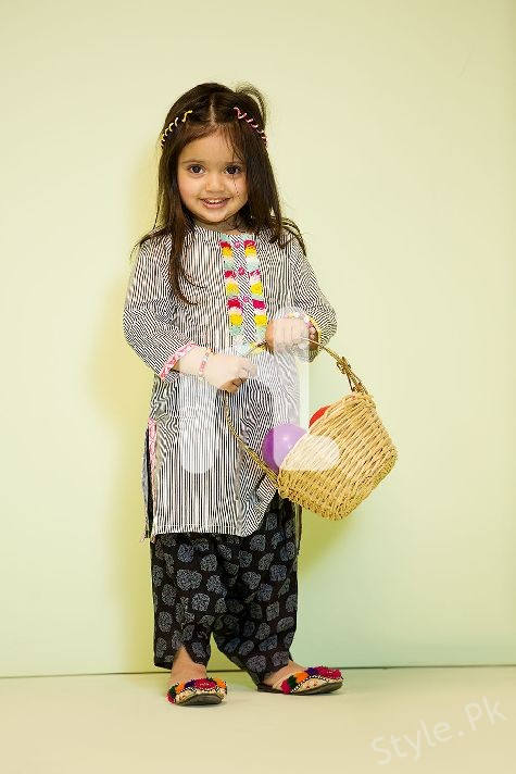 c3a6481d4d Nishat Kids Eid-ul-fiter Summer collection 2017 - Style.Pk