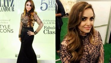 See Nadia Khan at 5th HUM Awards