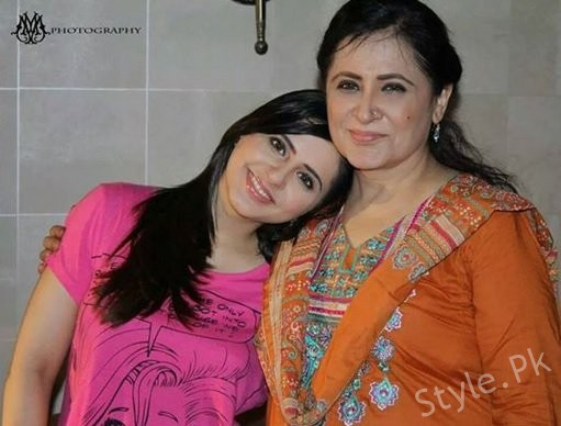 fatima effendi pictures with her mother