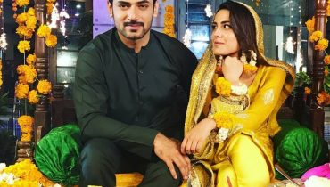 See Iqra Aziz and Zahid Ahmed make an Adorable on Screen Couple