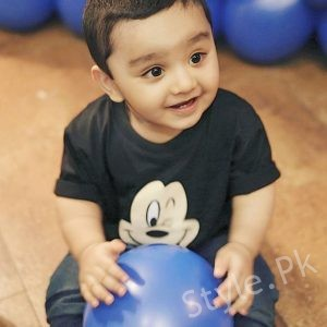 Bilal And Uroosa Celebrate Sohaan's First Birthday
