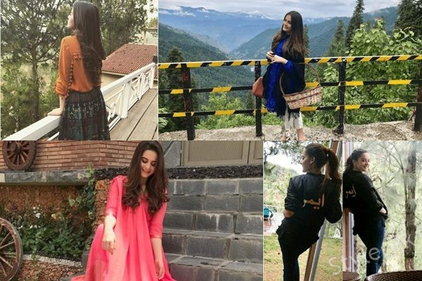 See Aiman Khan's Pictures from Nathia Gali