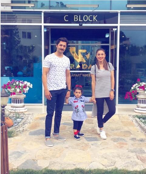 Ayeza Khan And Danish Taimoor Having Fun In Turkey