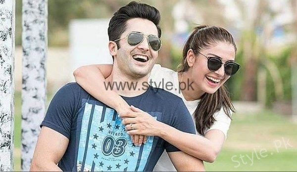 See Ayeza Khan and Danish Taimoor to Work Together in a Film