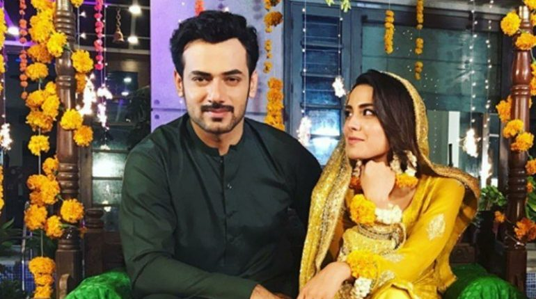 Super Star Actor Zahid Ahmed And Iqra Ariz Coming Together In Gustakh Ishq