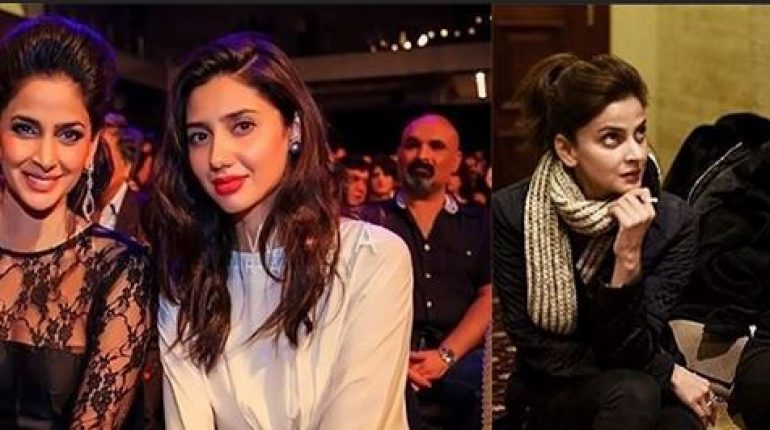 See Mahira Khan broke her silence on being compared with Saba Qamar