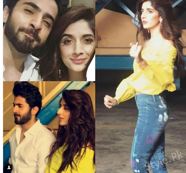 Mawra Hocane And Sheheryar Munawar Setting The Temperature High