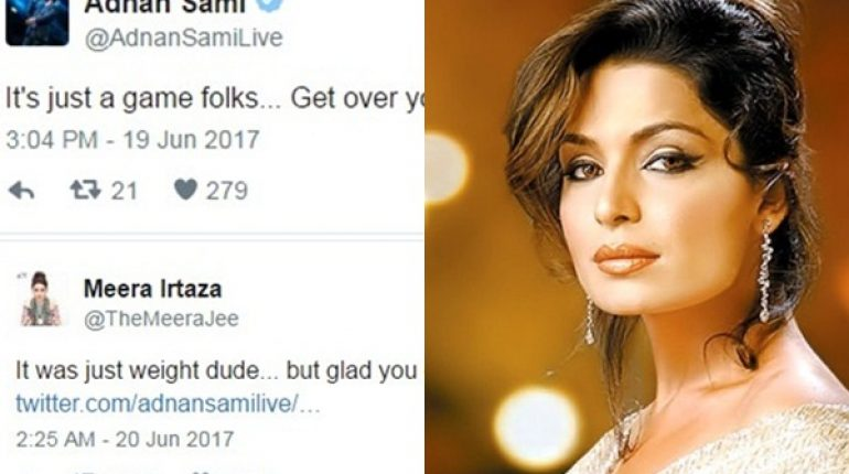 See Standing Ovation for Meera on trolling Adnan Sami