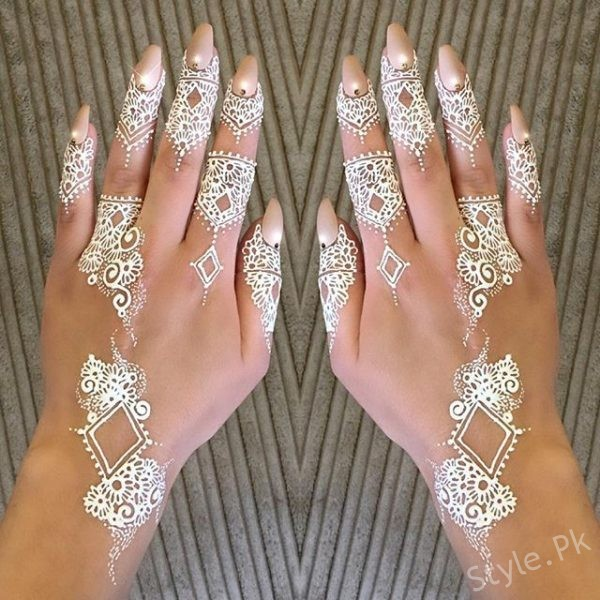 top 10 white henna designs for eid 2017 white mehndi is